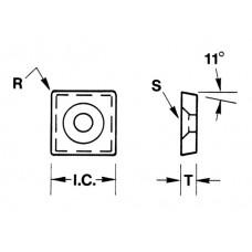 Carbide Insert ASD-12P-A2*