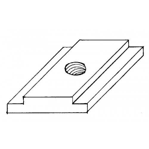 """Machined """"T"""" Nut for Indexable Tool Post CAI-TM"""