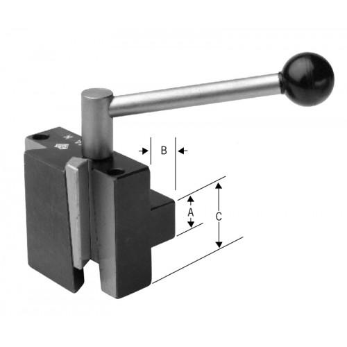 Universal Mounting Aloris Super-Precision Single-Dovetail Head CXA-H