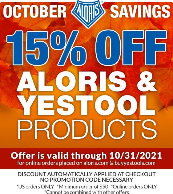 Aloris Tools September Sale